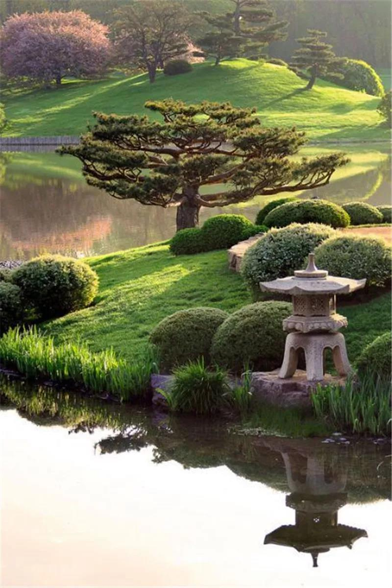 花坛模纹_六大风格庭院,植物配置全知道!_景观干货_景观干货_园景人