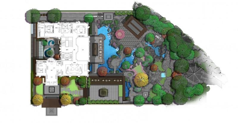 西山龙胤-620庭院分区